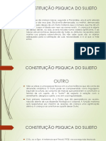 CONSTITUIÇÃO PSIQUICA DO SUJEITO  II.pptx