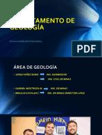 Departamento de Geología