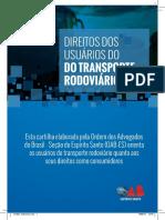 Cartilha Transporte Rodoviario