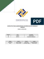 LCI OPER in 002 Instructivo Informe Ejecutivo Semanal Mensual Rev2
