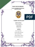 Pares Craneales II III IV v VI