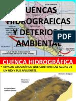 Capitulo 03 Cuenca Hidrográfica y Deterioro Ambiental