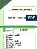Programação para web 1