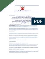 Área de Transcripciones Com Fiscalizacion