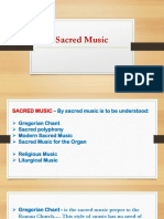 2Sacred Music