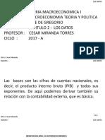 Los datos -Libro Gregorio