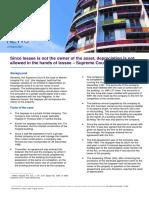 Depreciation KPMG report