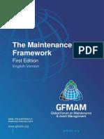Gfmam the Maintenance Framework First Edition English Version