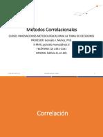 3 Métodos Correlacionales 2017 DEP