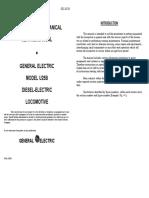 GE 7FDL16 Diesel ServiceManual