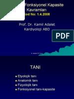 Kardiyolojide Tanı ve Fonksiyonel Kapasite Kavramları - www.stetuskop.com