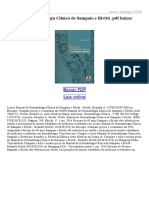Manual de Dermatologia Clínica de Sampaio e Rivitti