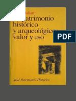 Ballart, Jose. - El Patrimonio Historico Y Arqueologico_ Valor Y Uso [1997]