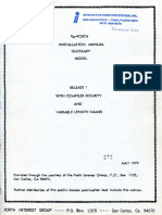 Fig-Forth Manuals May79