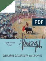Exposición de pintura de Pérezgil. Cien años del artista (1918-2018)