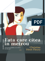 Cristine Feret Fleury-Fata Care Citea in Metrou