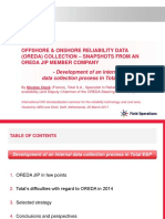Offshore & Onshore reliability data Oreda
