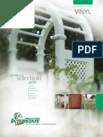 Interstate PVC Fence Brochure - Sunrise Custom Fence East Inc.
