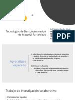 Descontaminación y Normativas (1)