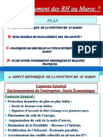Quel Management Des RH Au Maroc VF RESUME 2017