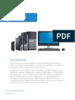 Optiplex 9020 Micro Technical Spec Sheet
