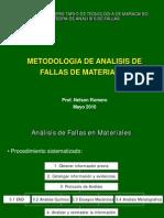 Análisis de Fallas en Materiales II (7 Mayo 2010)