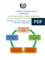 Informe Cinco Componentes Del Enfoque Ambiental 2015