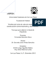 ANALISIS DE CICLO DE VIDA DE MATERIALES DE CONSTRUCCION CONVENCIONALES Y ALTERNOS. FGM. AGGJ. 12.pdf