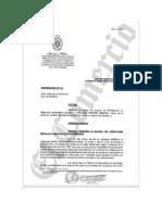 Disposición del fiscal José Domingo Pérez contra Pedro Chávarry, titular del Ministerio Público