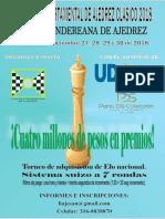 Informacion Departamental Ajedrez 2018