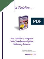 """Guia Practica - Para """"Establecer"""" y """"Conquistar"""" Metas"""