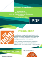Home Depot HRCU 651 Final Powerpoint