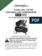 Air Compressor Manual