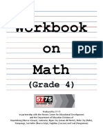 Workbook Mathg4