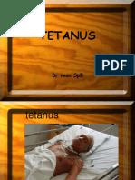 TETANUS Epidence Base