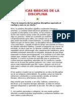 TÉCNICAS BÁSICAS DE LA DISCIPLINA