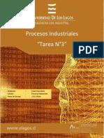 Tarea N°3 Procesos Industriales