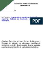 Clase 1 Medidas de Tendencia Central y Dispersión(1)