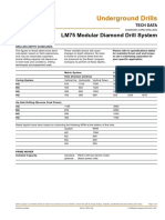 LM 75 Technical Data