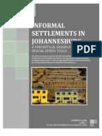 Assignment 1 [Informal Settlements in Johannesburg