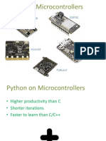 RpiMakers Python on Microcontrollers May 12 2018