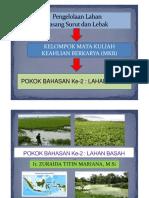 Tata Guna Lahan Dan Pertumbuhan Kawasan (Pengantar Perencanaan Wilayah Dan Kota)