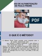 Paulo Freire Método