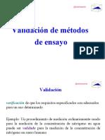 Validacion Metodos-METODO HORWICH