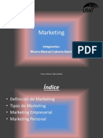 Marketing(Sud Zero)