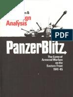 PanzerBlitz Designer's Notes & Campaign Analysis