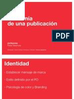 Anatomía de Una Publicación