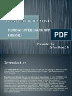 Financial Derivatives- MIBOR