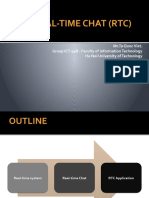 The Real-Time Chat (RTM)