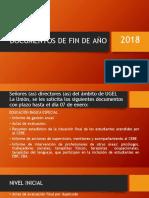 DOCUMENTOS DE FIN DE AÑO 2018.pptx